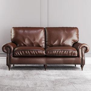 3D halo balmoral sofa
