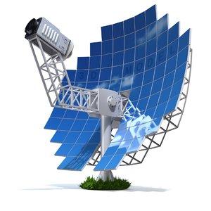 engine stirling solar model