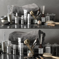 bathroom set 04 3D