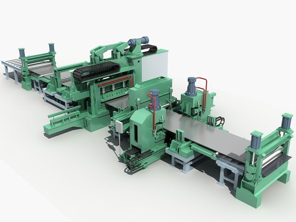rolling equipment shop 3D model