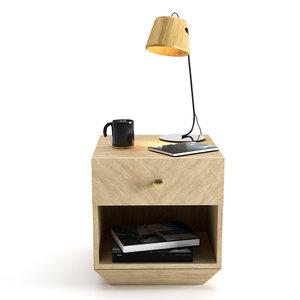 bedside table lamp model