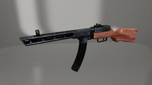 3D rifle ww2 russian