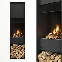 firewood fireplace model