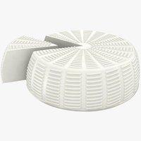 3D realistic wheel soft salty
