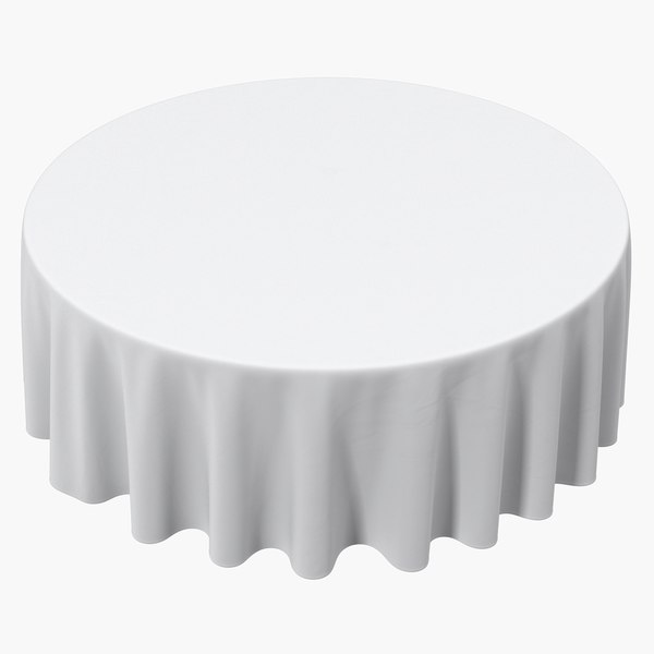 3D model tablecloth 2 table cloth