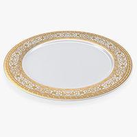 3D dinner plate model