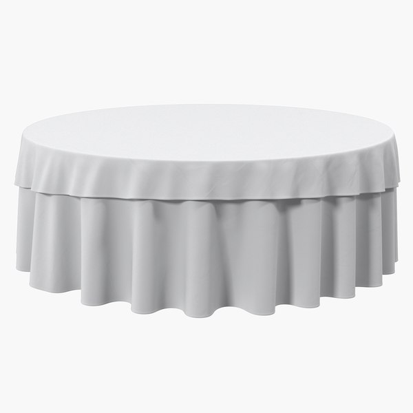 3D tablecloth table setting cloth