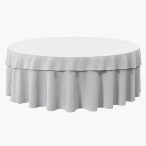 3D tablecloth table setting cloth