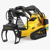 vermeer s450tx grapple clean 3D