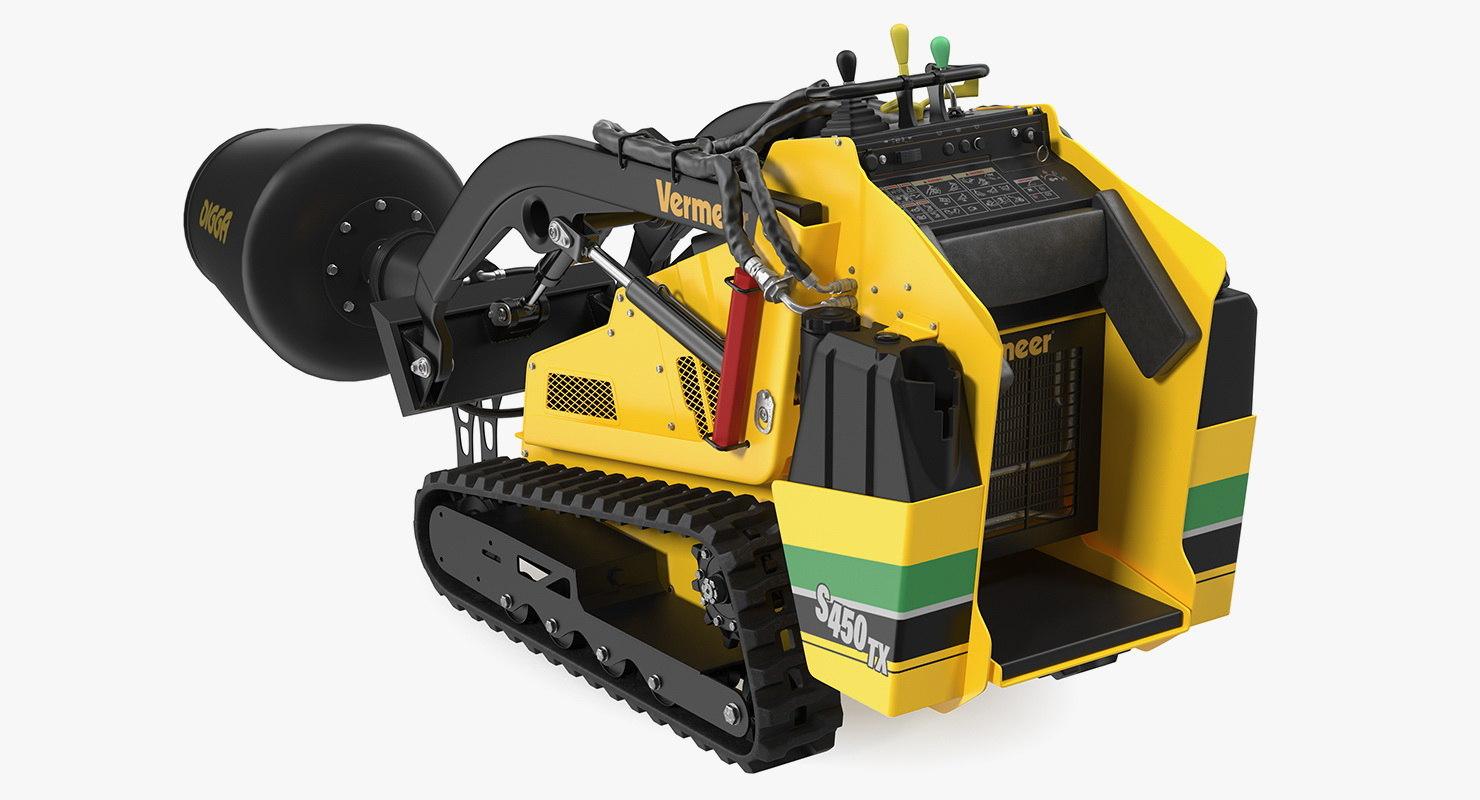 3D model vermeer s450tx mixer