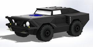 harry apocalyptic vehicle model
