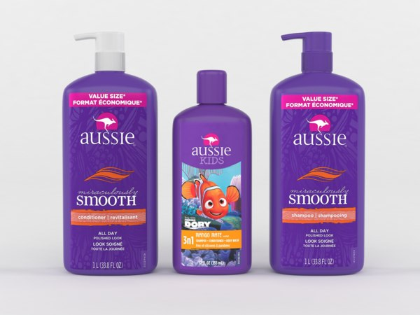 aussie shampoo conditioner 3D model