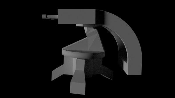 basic turret 3D model