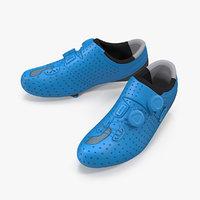 3D model bicyclist boots