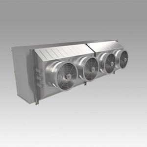 3D chiller model