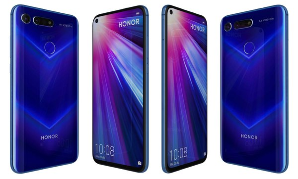 honor view 20 sapphire 3D