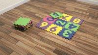 foam floor numbers