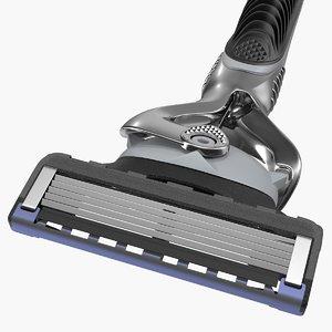 shaving razor 3D model