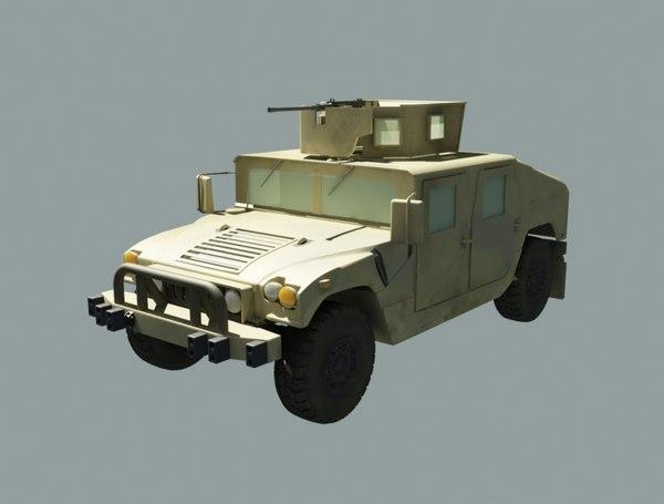 humvee 2013 3D model