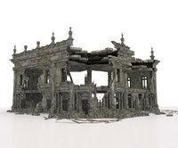 RUINED APOCALYPSE BUILDING