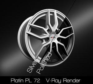 platin rim 3D model