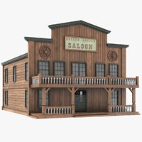 western house saloon model