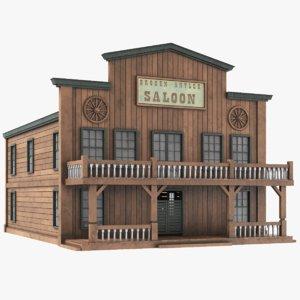western house saloon model