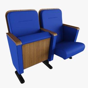 chair armrest 3D