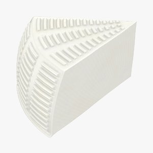 realistic wheel soft salty 3D model