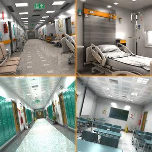 3D hospital school model