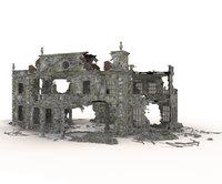 DAMAGED OLD BUILDING
