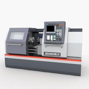 3D cnc machine tool 2 model