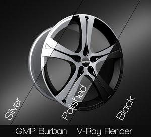 gmp burban rim 3D