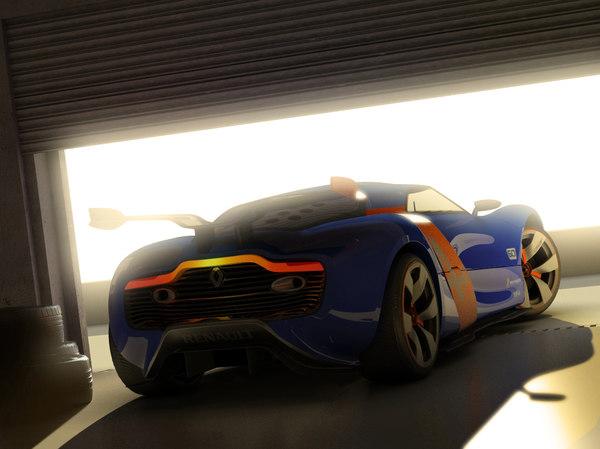 garage car 3D model