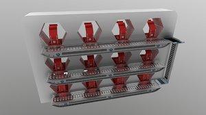 drone station 3D model
