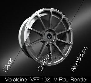 vorsteiner vff 102 rim 3D model
