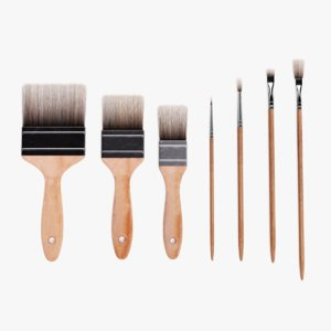 brushes used pbr 3D