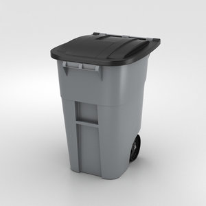 3D garbage container model