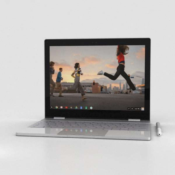 3D google pixelbook