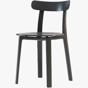 3D plastic chair vitra