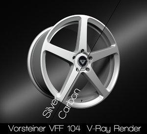 vorsteiner vff 104 rim 3D model