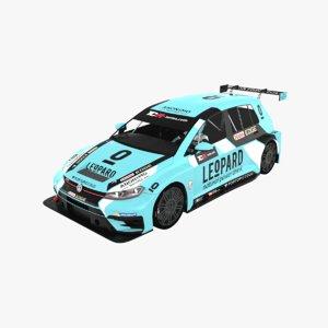 3D volkswagen golf gti tcr