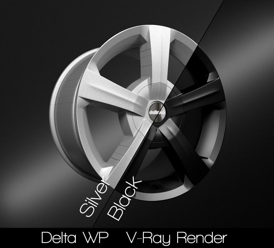 3D delta model