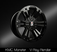 kmc monster rim model