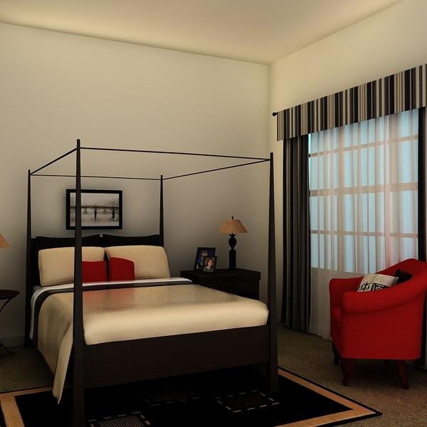 3d bed frame