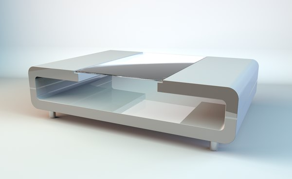 futuristic table 3D