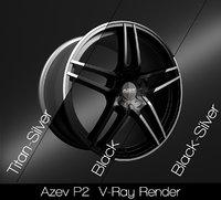 3D azev p2 rim model
