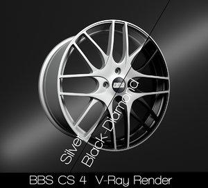 bbs rim 3D model