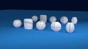 vase ceramics 3D model
