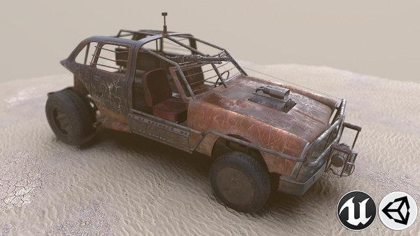vehicle 4x4 3D model